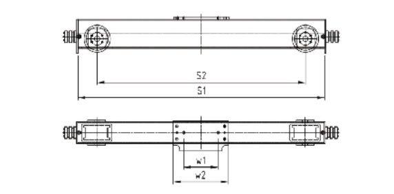 European style single girder end carriage