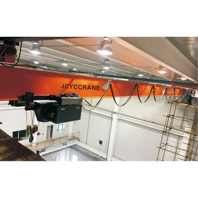European style single girder overhead crane