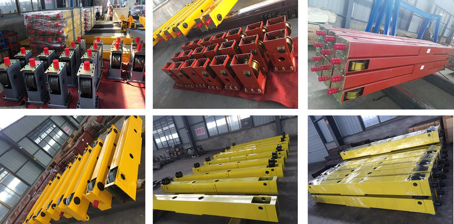 Single girder end carriage