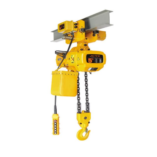 lectric chain hoist with motor trolley
