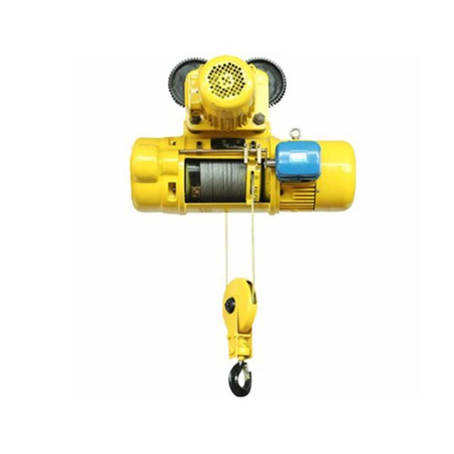 CD electric wire rope hoist with motorized trolley