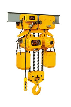 Electric chain hoist with motor trolley 10tons