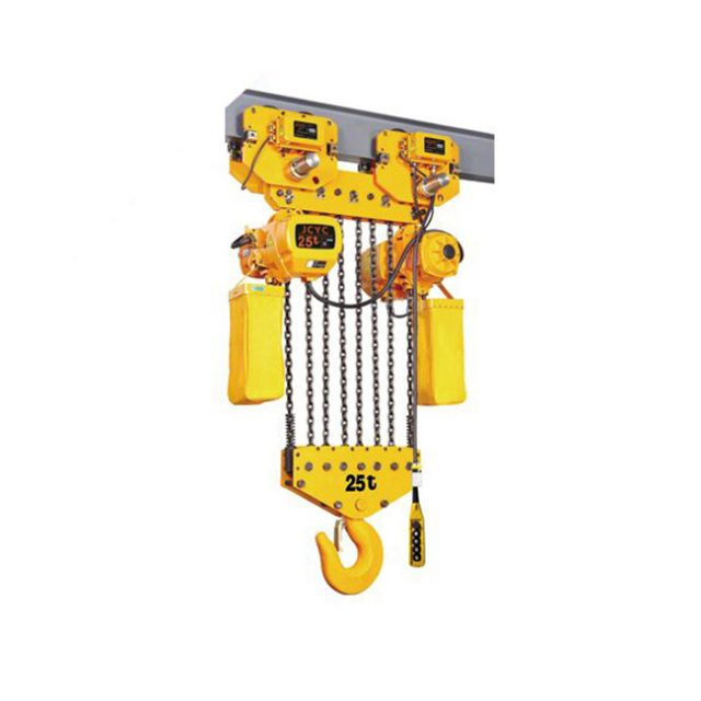 Electric chain hoist with motor trolley 15t-25tons