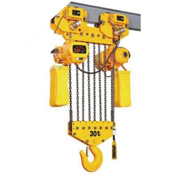 Electric chain hoist with motor trolley 30tons 2